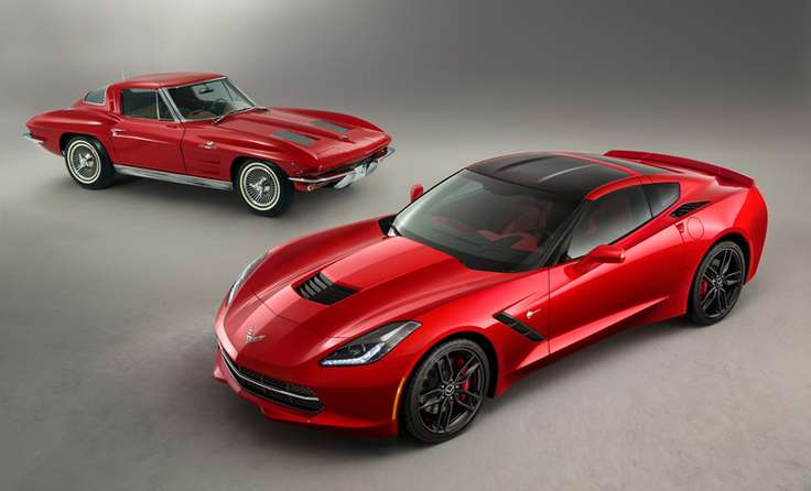 Chevrolet Corvette Stingray #9866365
