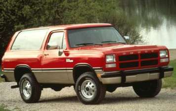 Dodge Ramcharger #9550030