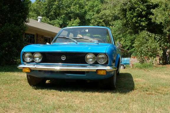 Fiat 124 Coupe #9858644