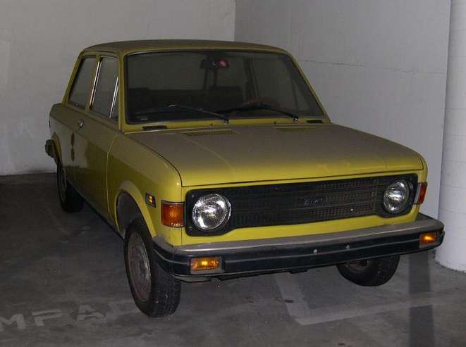 Fiat 128 coupe #7424054