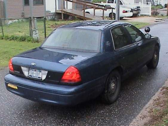 Ford Crown Victoria Police Interceptor #7852962