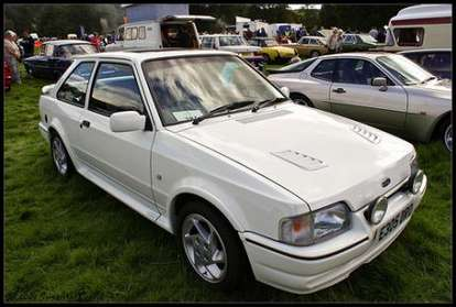 Ford Escort RS Turbo #7961425