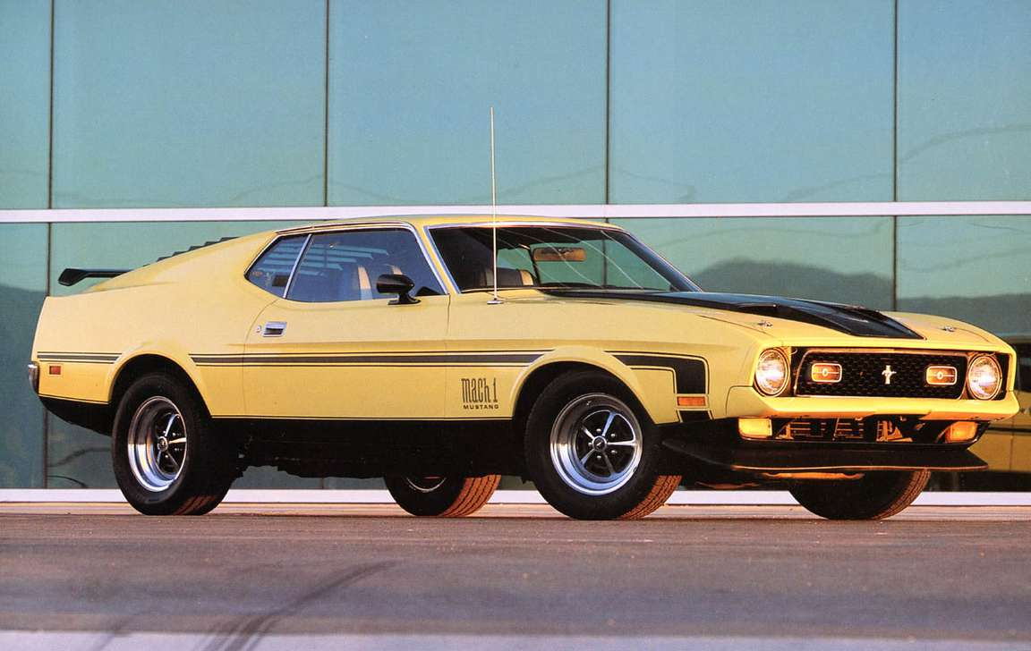 Ford Mustang Mach 1 #7599805