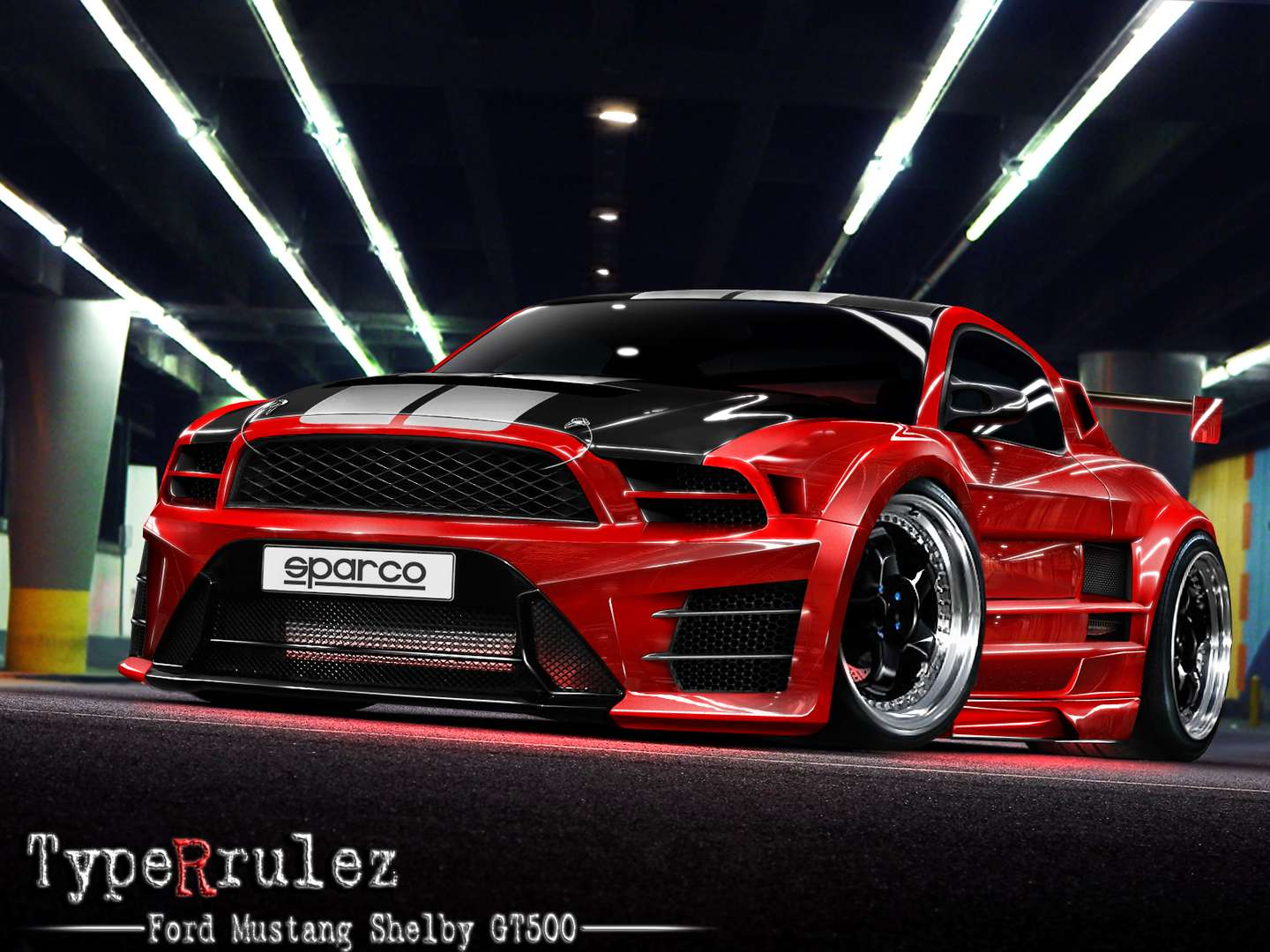 Ford Mustang Shelby #7077085