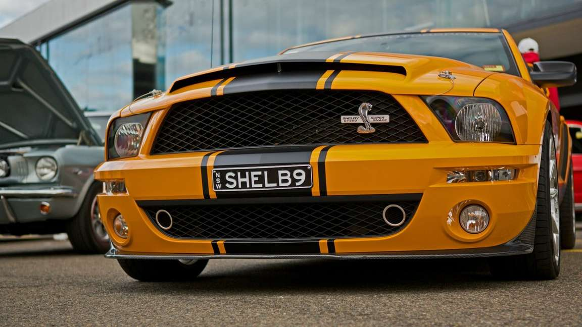 Ford Mustang Shelby GT500 #8352711