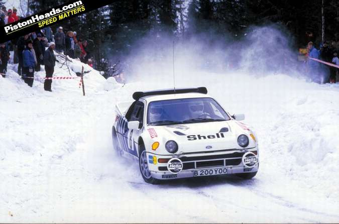 Ford RS 200 #9493143