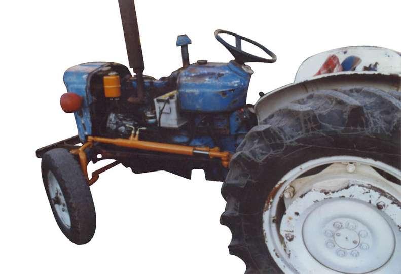 Dexta Tractor Hydraulics : Fordson dexta