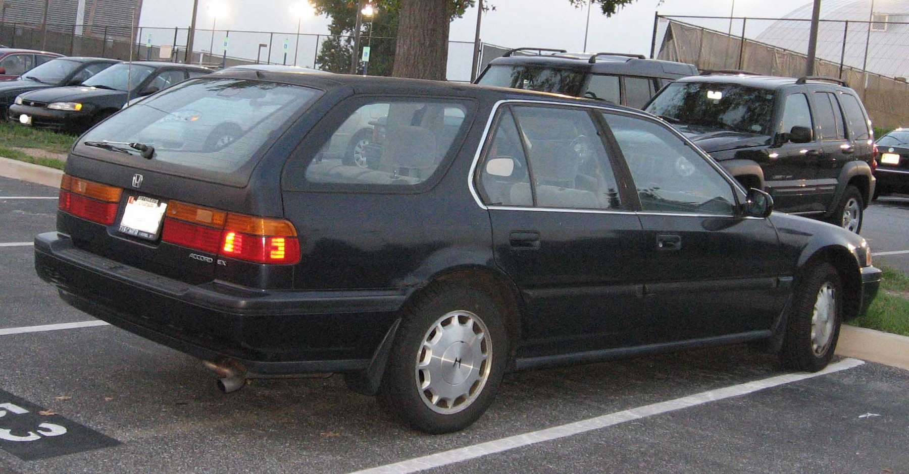 Honda Accord Wagon #9372116