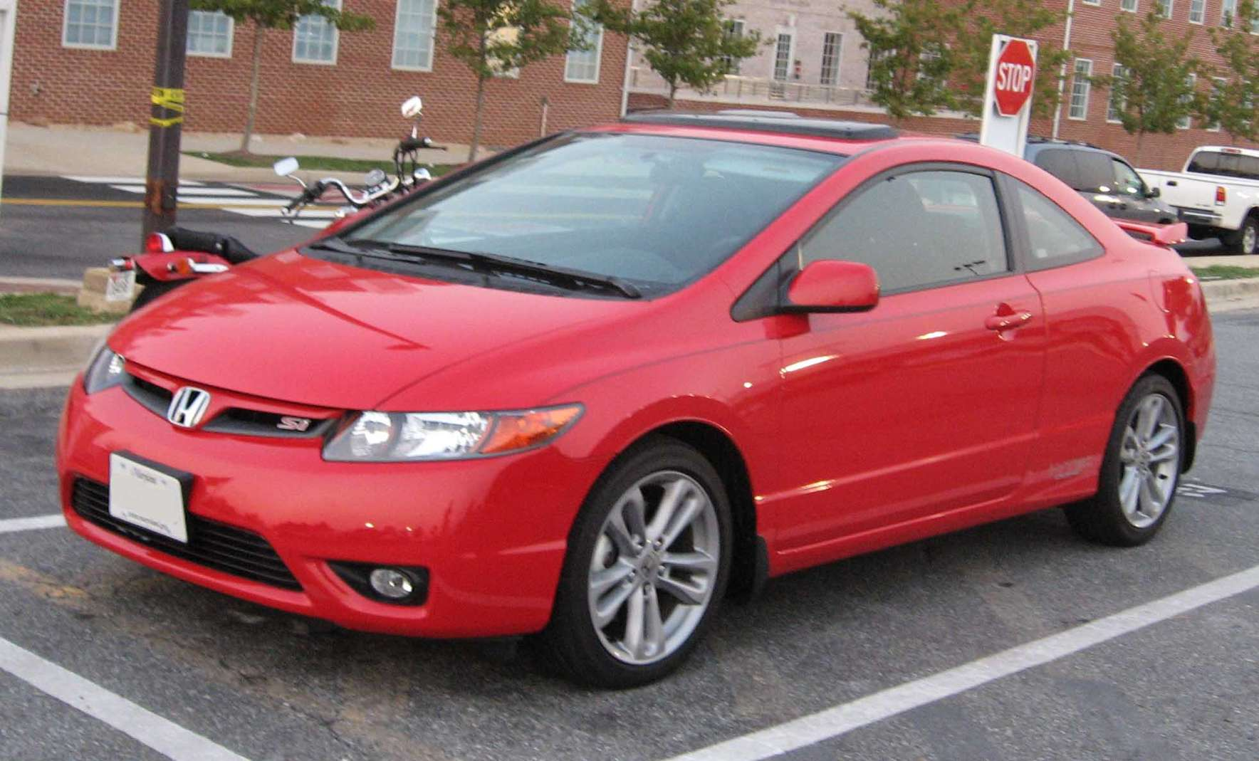 Honda Civic Si Coupe #8244185