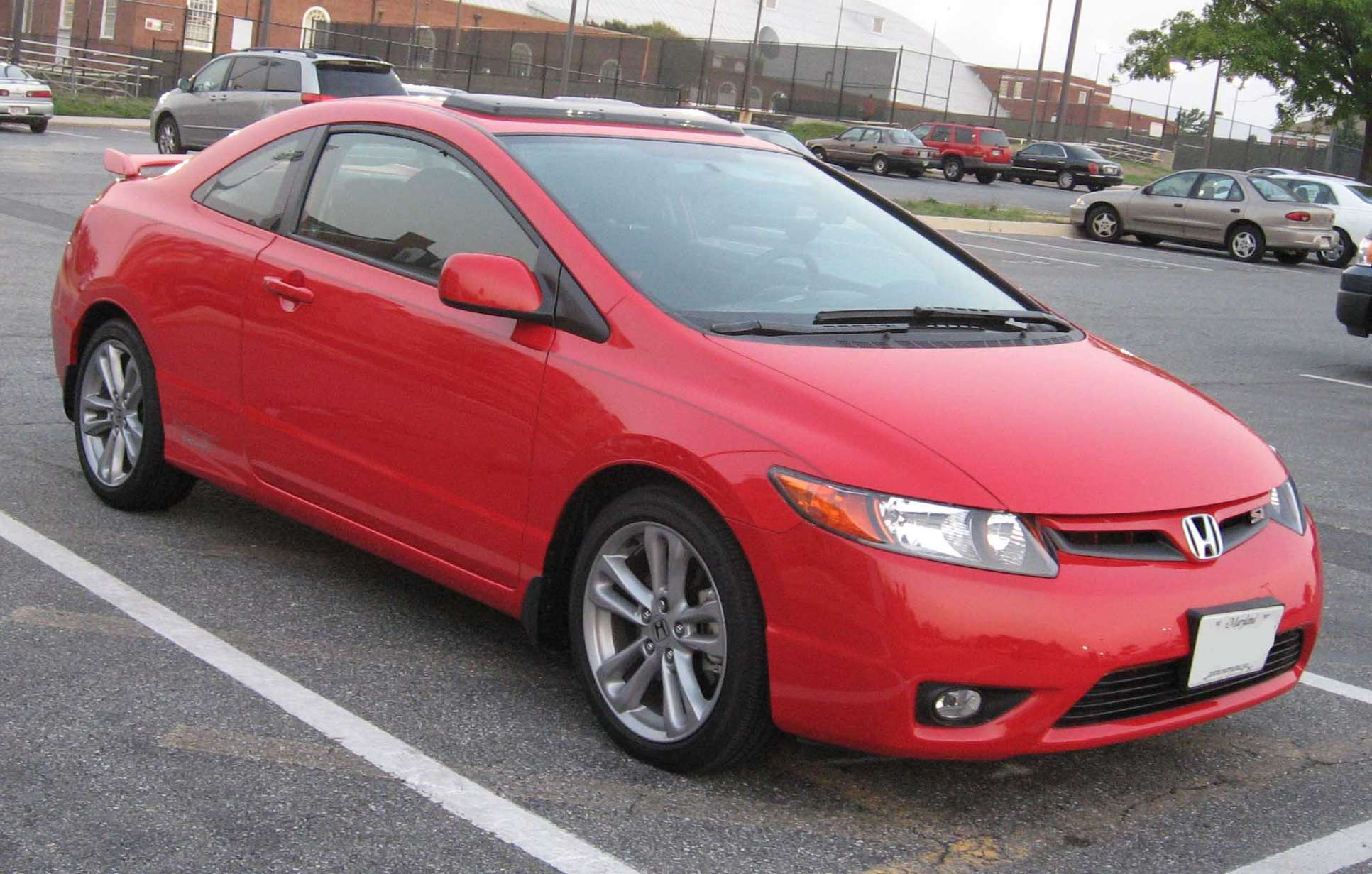 Honda Civic Si Coupe #9627692