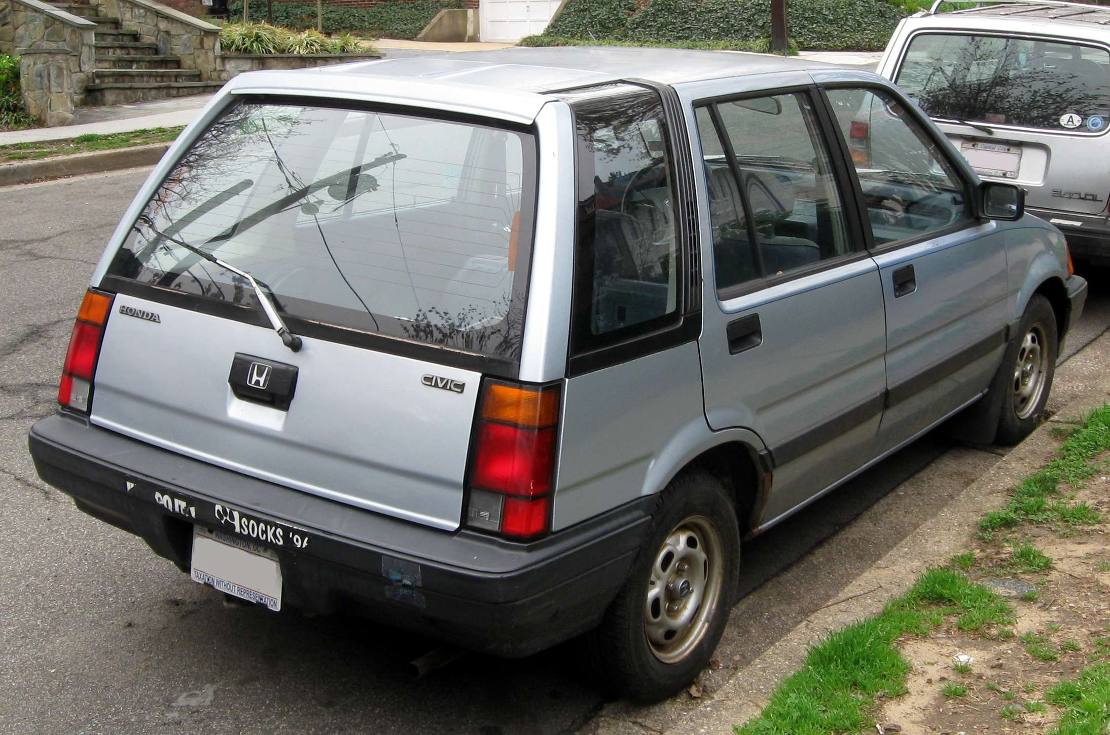 Honda Civic Wagon #8980532