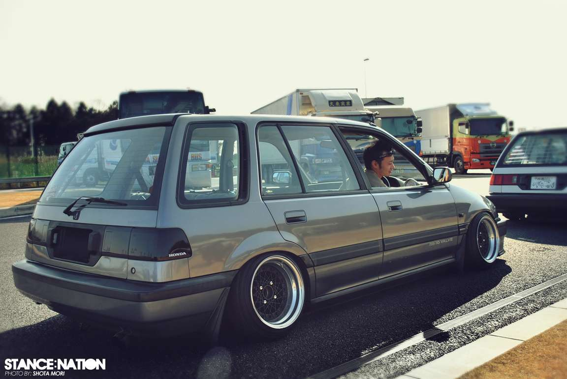 Honda Civic Wagon #7420161