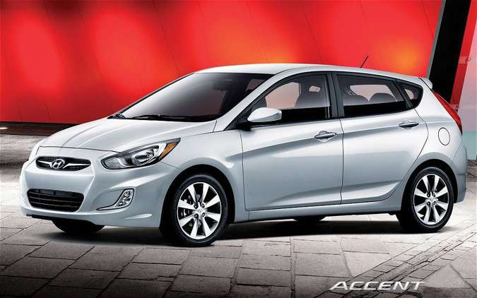 Hyundai Accent hatchback #8516059