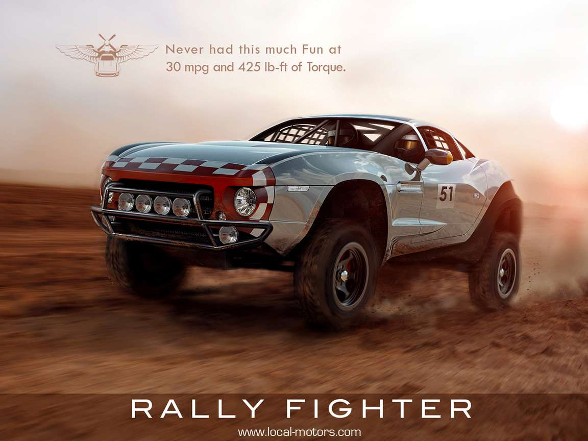 Local Motors Rally Fighter #9037778