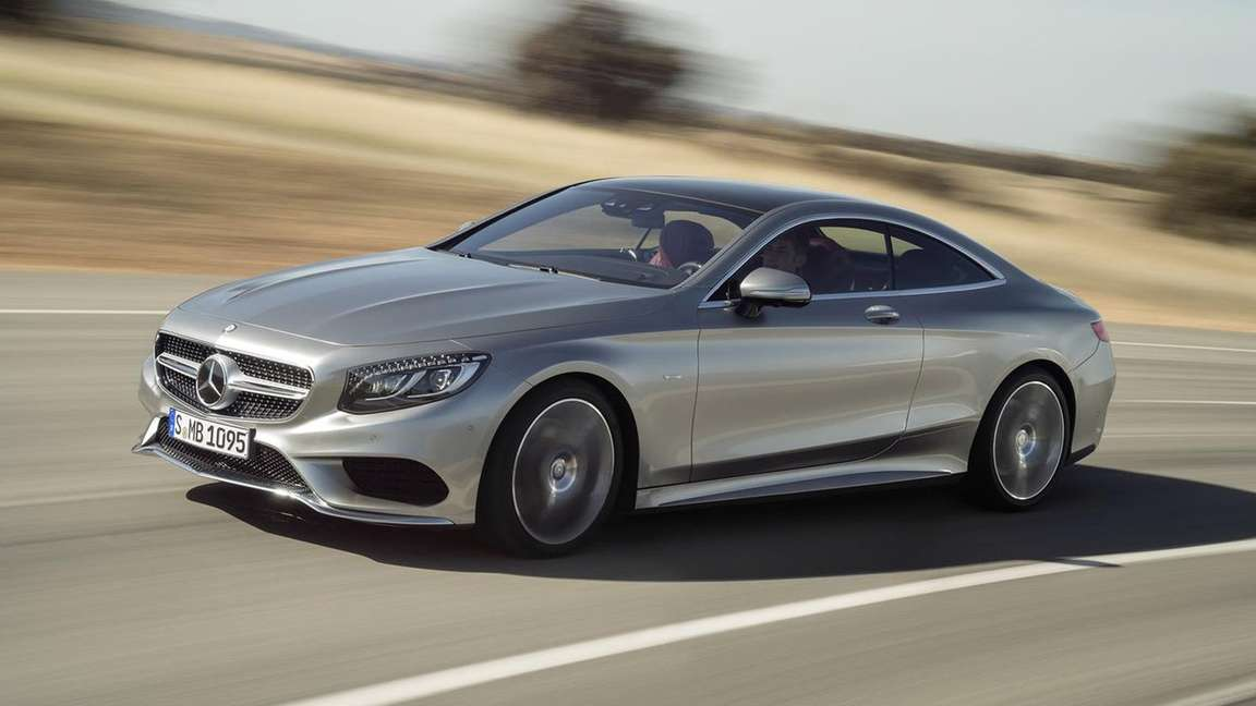 Mercedes-Benz S-Class Coupe #9336536