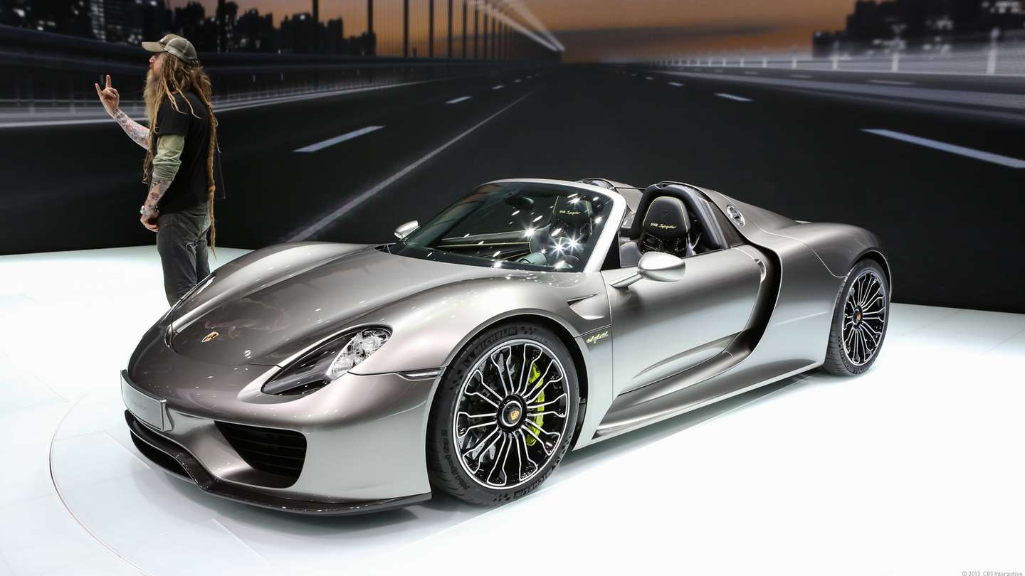 Porsche 918 Spyder A New Record On The Nurburgring