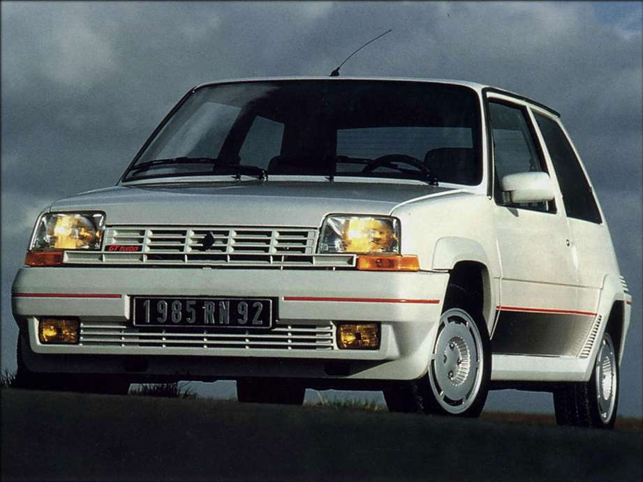 Renault 5 GT Turbo #7750397
