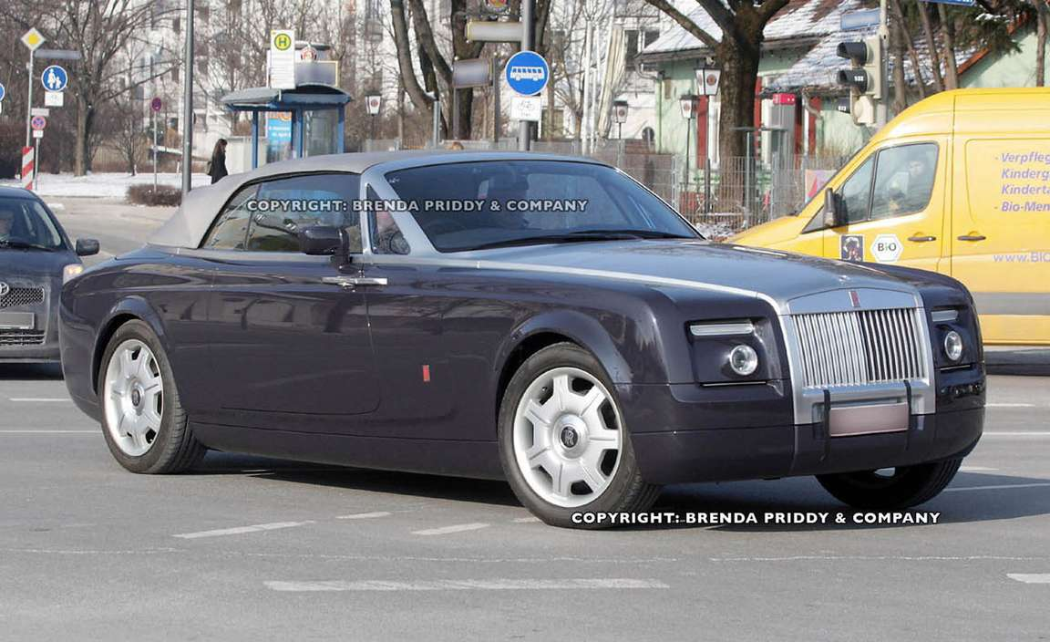 Rolls Royce Phantom Drophead Coupe #9207543