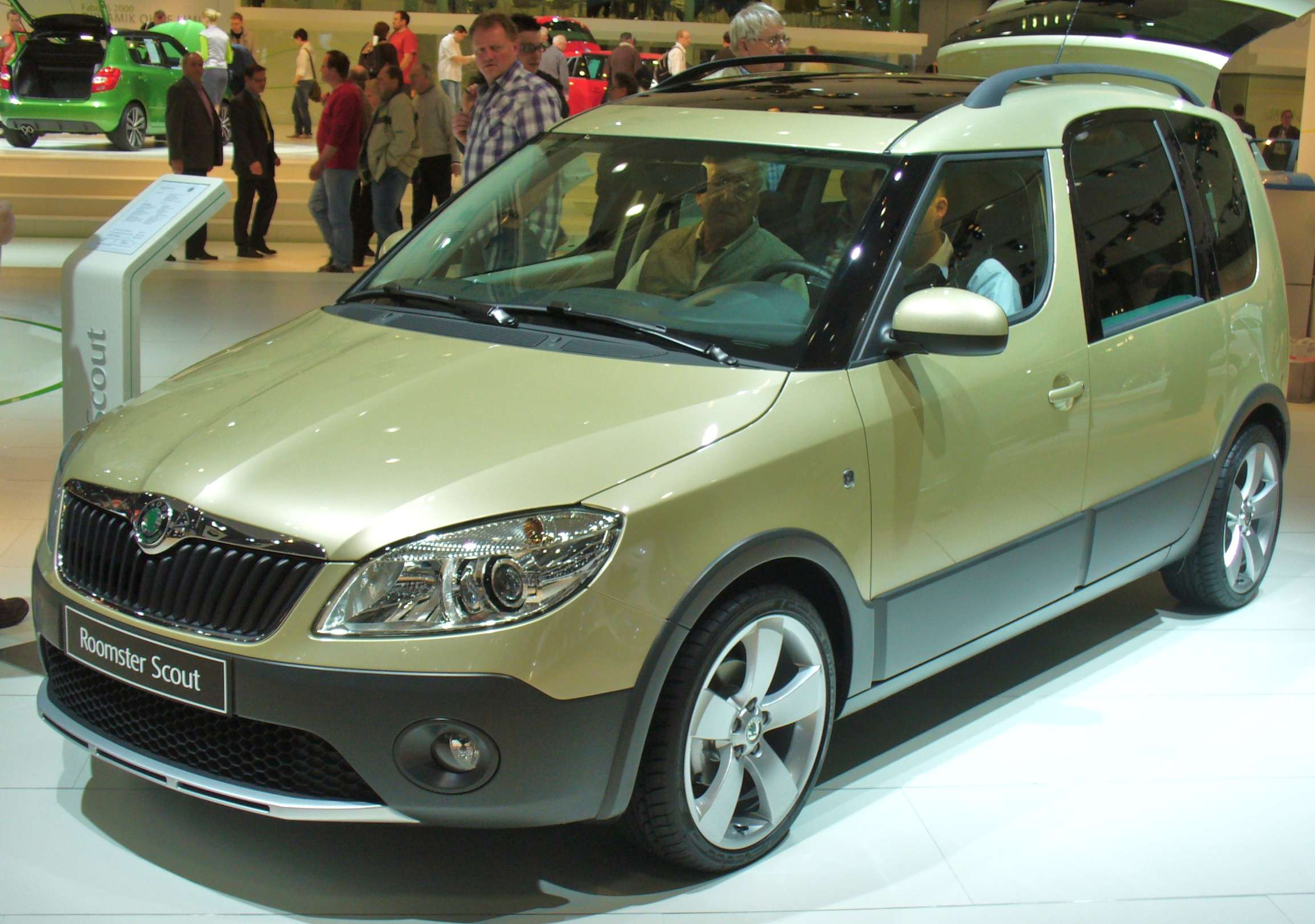 Skoda Roomster Scout #7885656