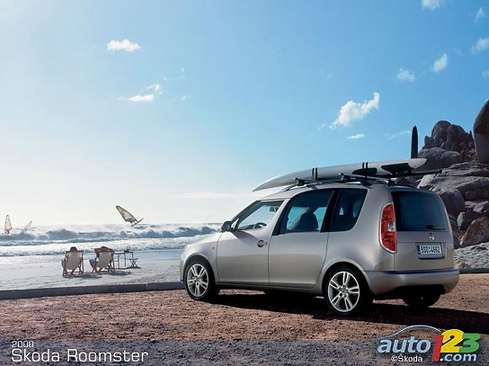 Skoda Roomster Scout #9898552