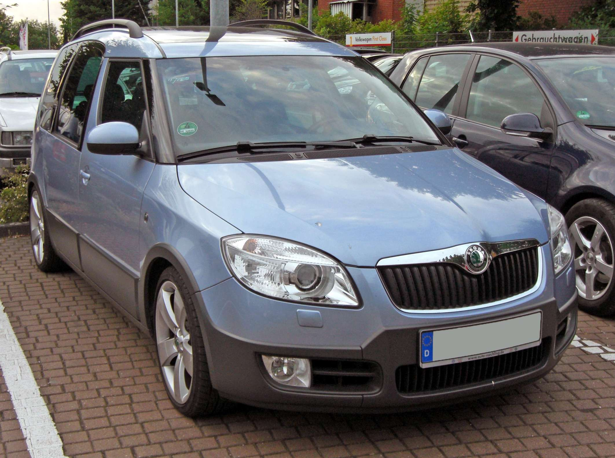 Skoda Roomster Scout #7398266