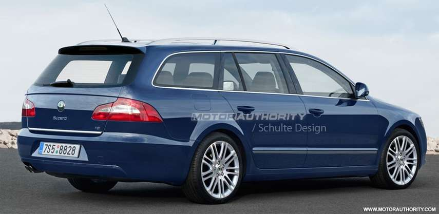 Skoda Superb Estate #7104162