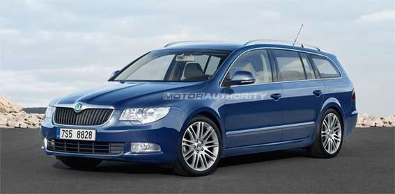 Skoda Superb Estate #7570864