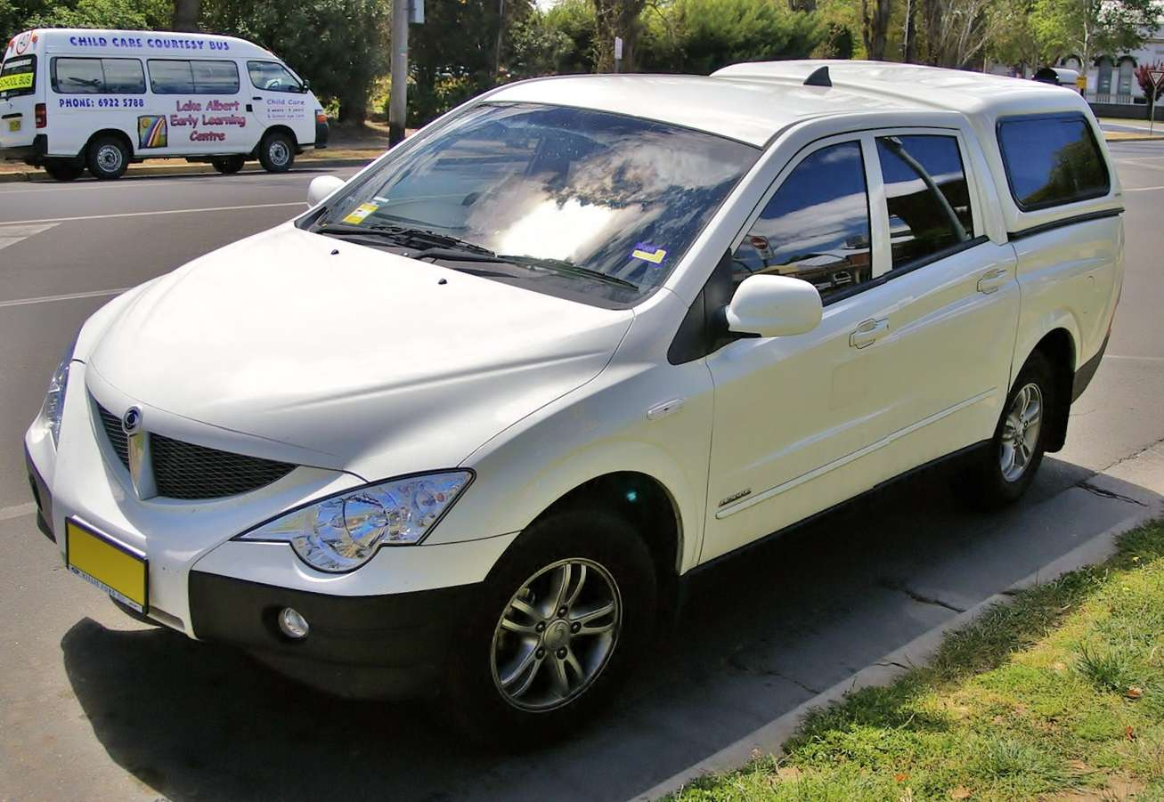 Ssangyong Actyon Sports #9873385