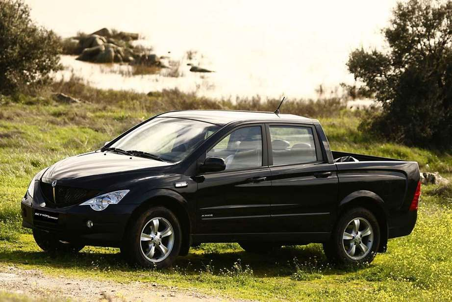 Ssangyong Actyon Sports #7100666