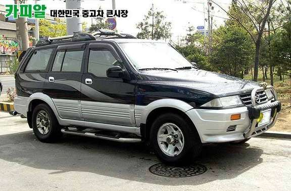 SsangYong Musso #7003775
