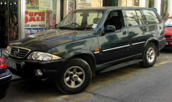 SsangYong Musso #7369705