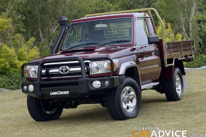 Toyota Land Cruiser 70 #8938435