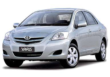 Toyota Yaris Sedan #7380821