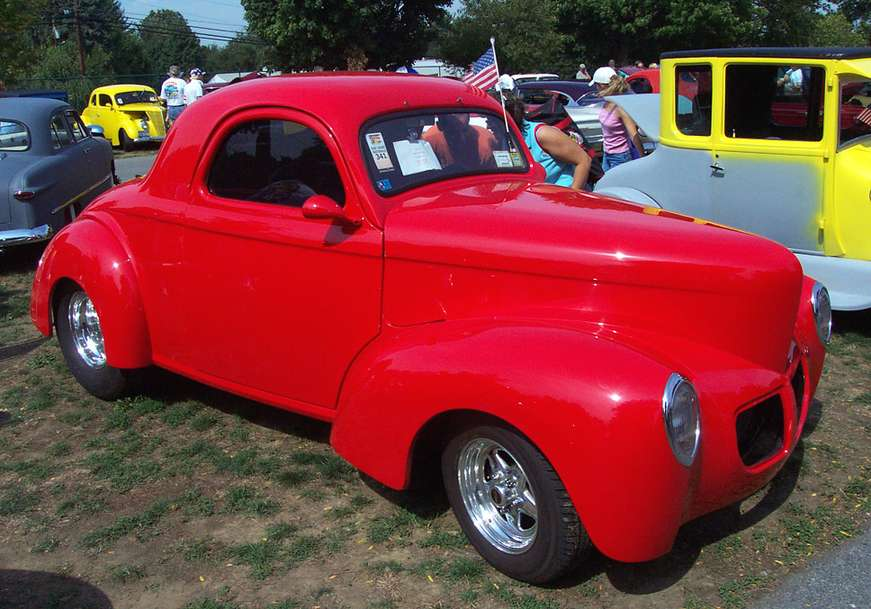 Willys Coupe #9740954