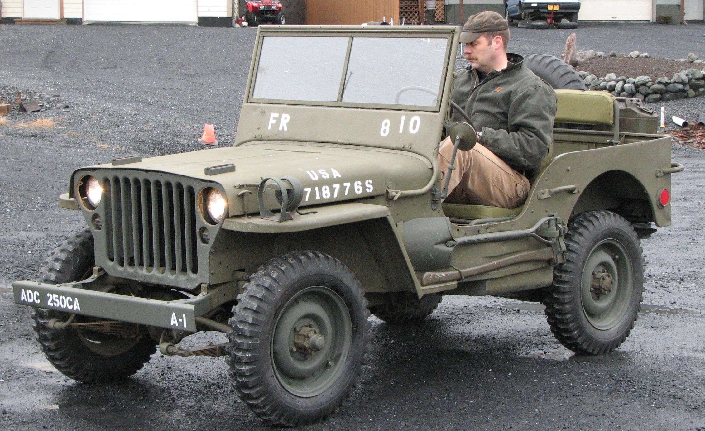 Willys MB #8594853