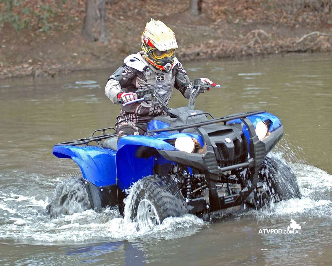 Yamaha Grizzly 700 #8810283