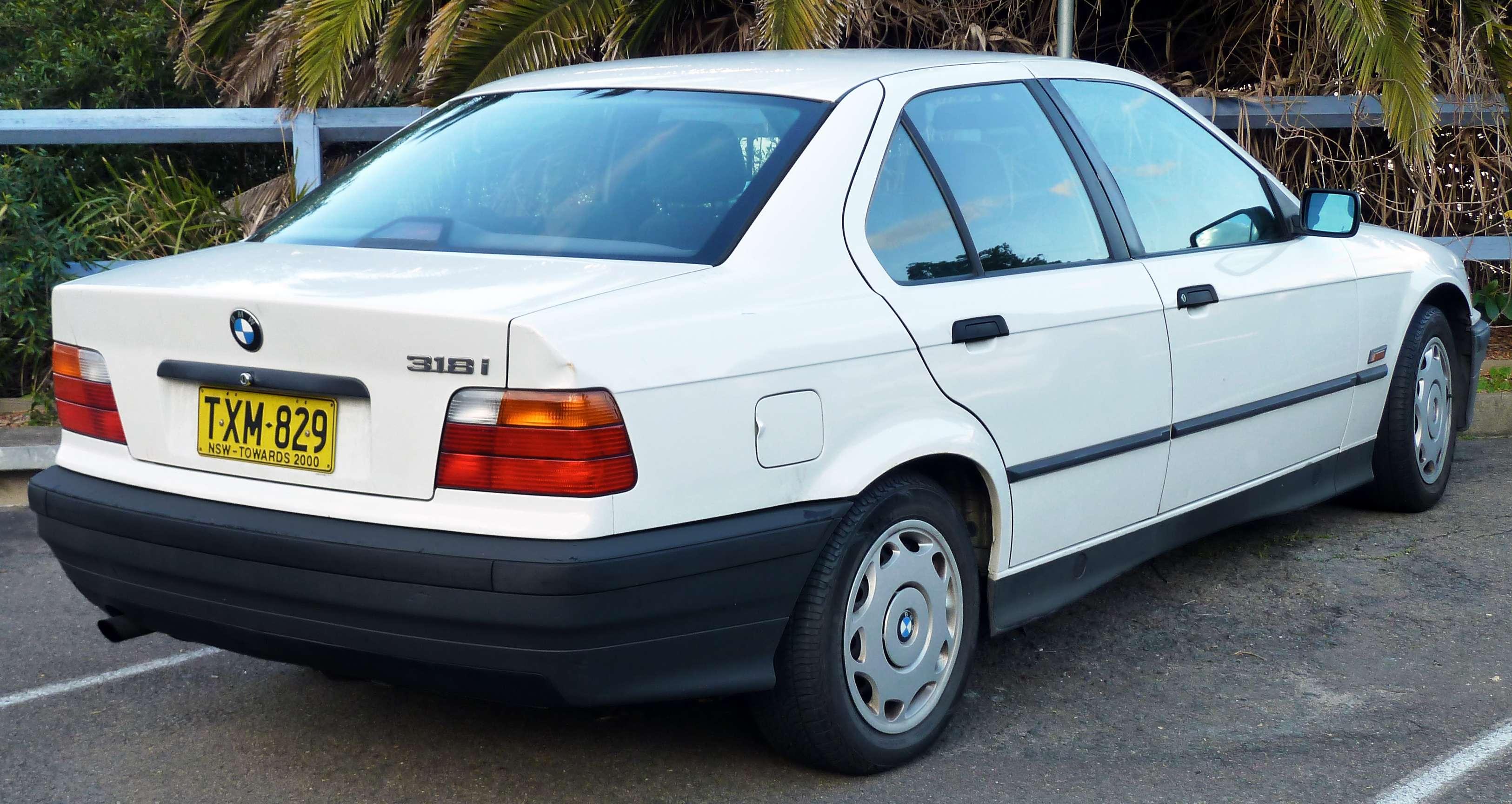 1996 Bmw 318