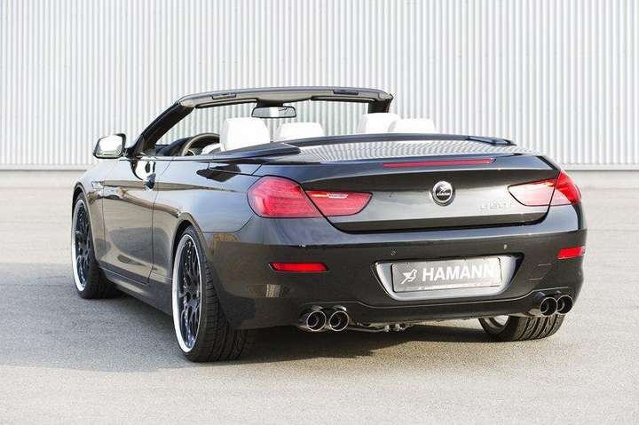 6 series bmw convertible