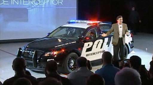 Ford Police Interceptor #9266450