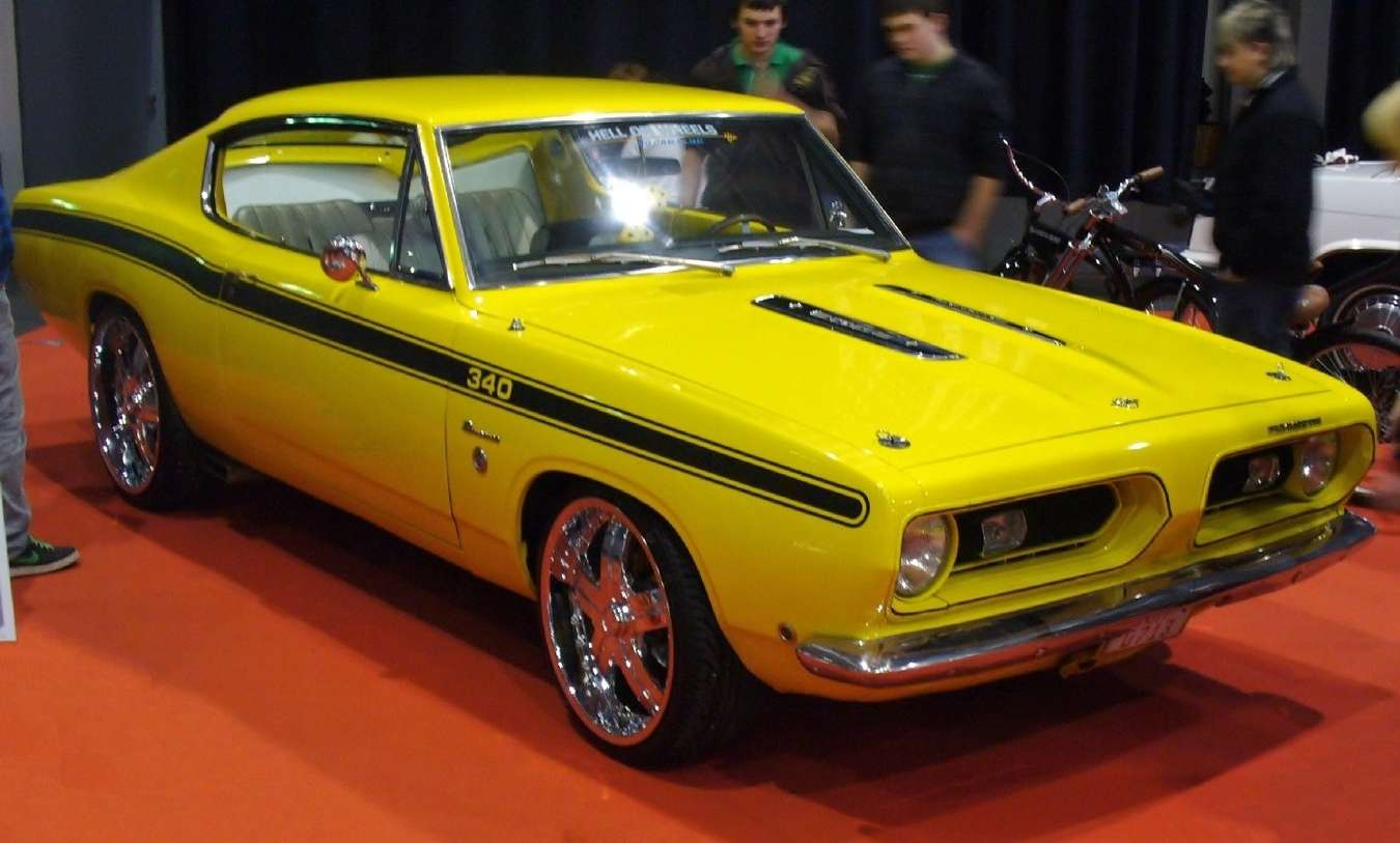 Plymouth Barracuda #8834876