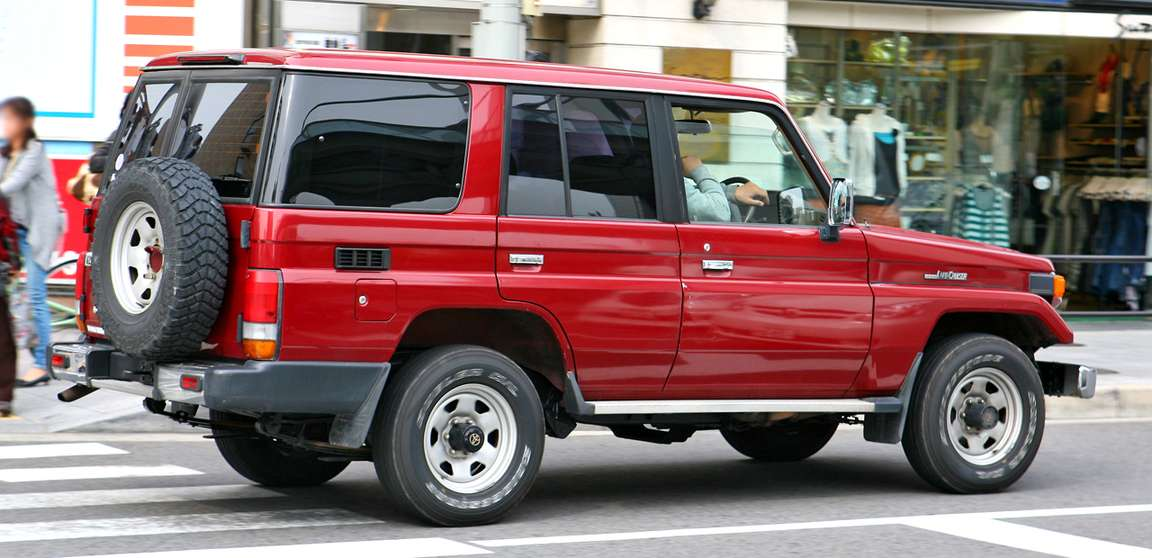 Toyota Land Cruiser 70 #8703689