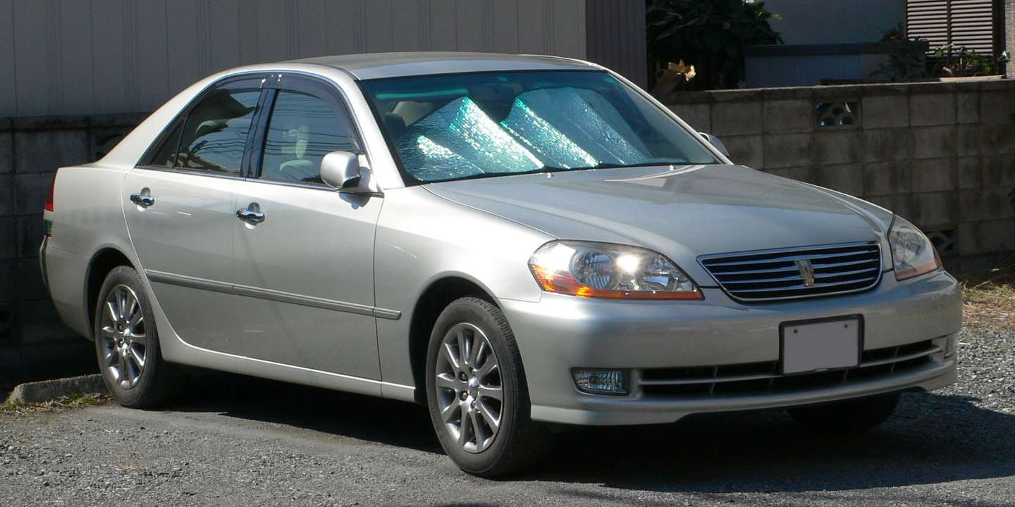 Toyota Mark II #7415336