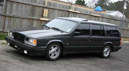 Volvo 740 Turbo #9784786