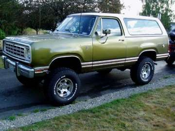 Dodge Ramcharger #7031568