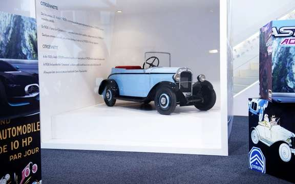 "Citroen exhibited ""a world of Creative Technology"" picture #5"