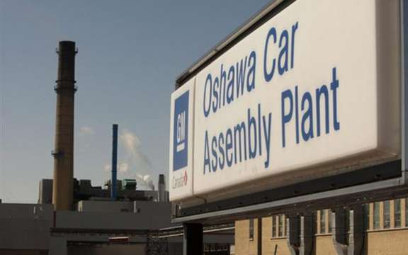 GM invests $ 117 million in its Oshawa assembly plant