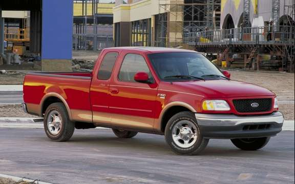 Ford recalls 1.1 million pickups its