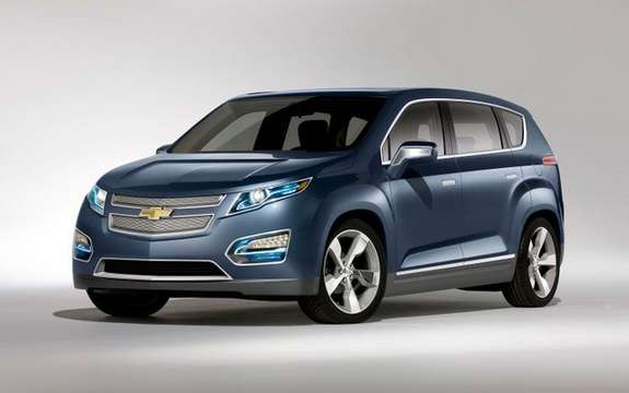Chevrolet Volt MPV5: From sedans to crossover