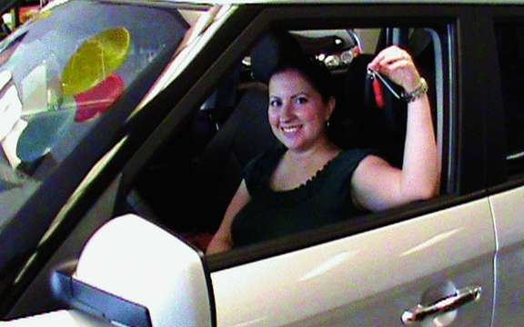 Kia Canada Inc. awards a 2011 Kia Soul is the winner of the contest for graduates on Facebook