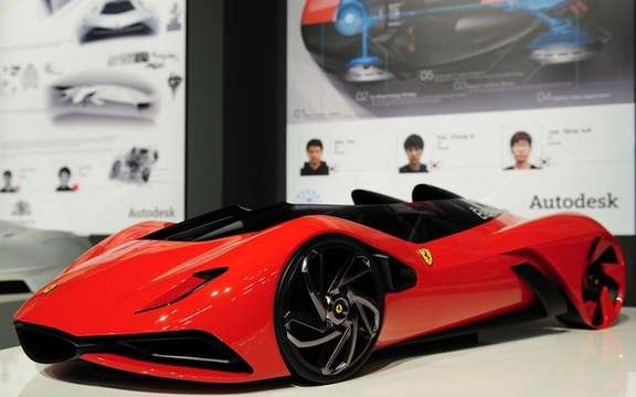 Ferrari World Design Contest: Win by a team of South Korea